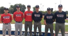 Firmin Hassed au MLB All-Star Cadet Camp Europe