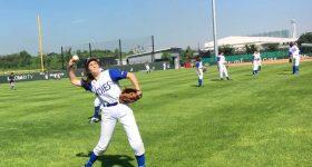 Lucie! «J'ai la chance d'être dans un club où j'ai le choix de jouer aussi bien au baseball qu'au softball»