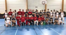Brest FSLM vainqueur de l'Open Breton Softball Indoor 2018-2019
