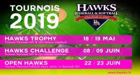 Playball !!! les Hawks commencent leur marathon de tournois 2019!