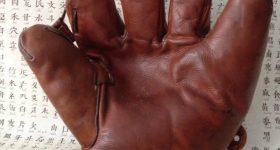 Un gant de baseball qui fut utilisé lors du  tournage du film, « le meilleur ».